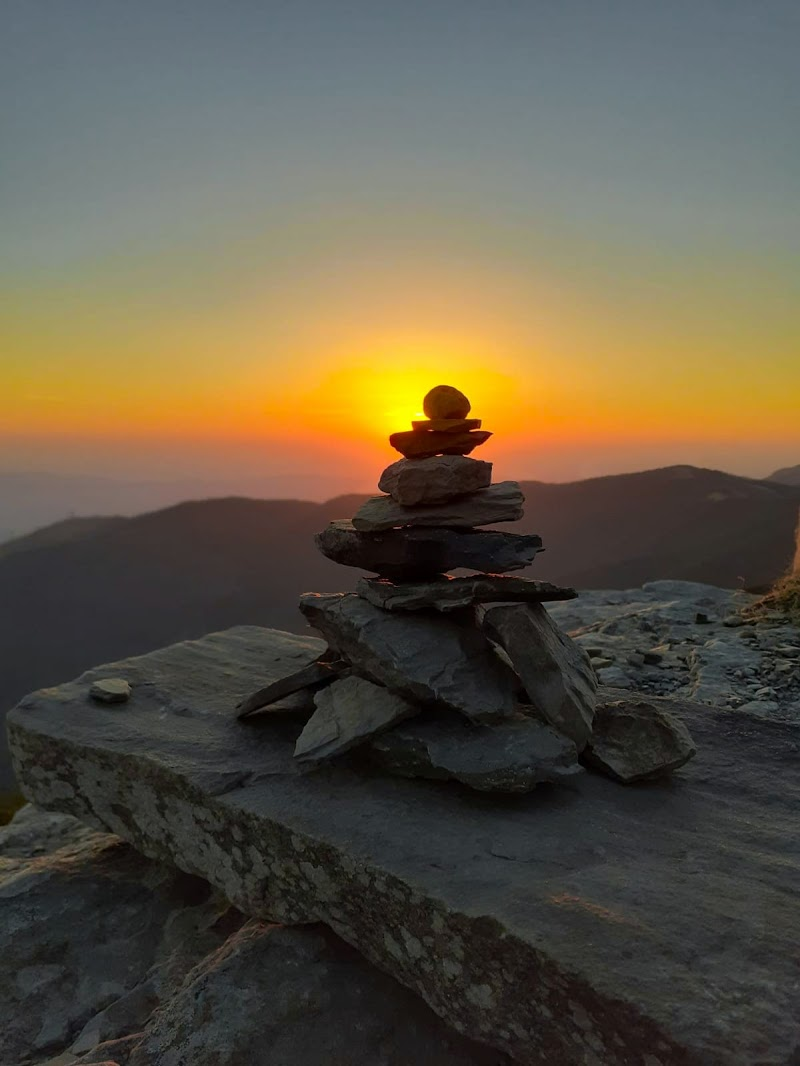 equilibrio al tramonto di sognandofotografie