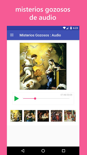 Audio Santo Rosario