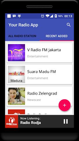 android Your Radio App Demo Screenshot 3