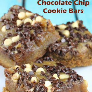 Slow Cooker Chocolate Chip Cookie Bars.