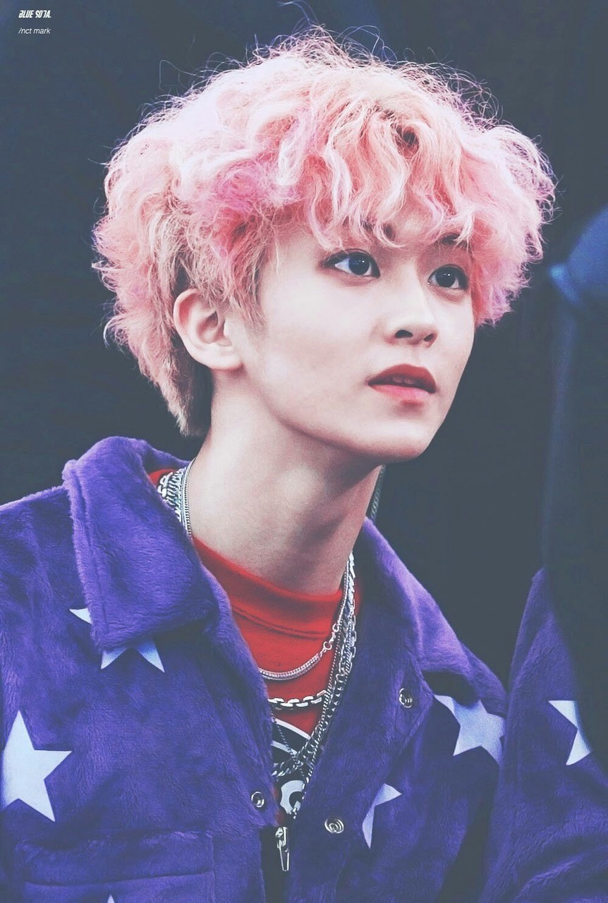 pink curly 30