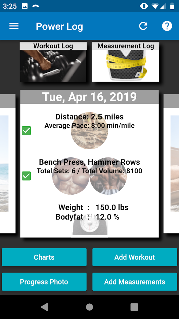 Power Log: Workout Tracker