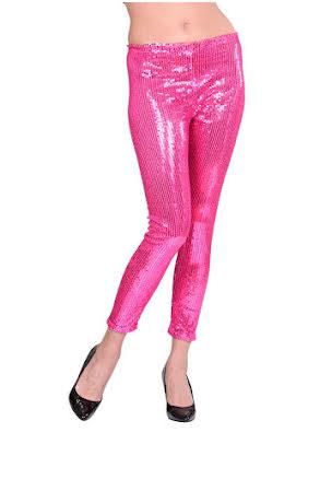Leggings, rosaglitter