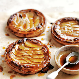 Almond And Pear Tarts.