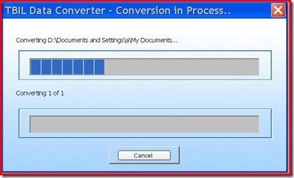 tbil data converter