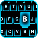 Neon Blue Smart keyboard icon