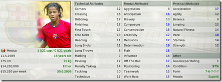 Dos Santos - wonderkid from Barcelona