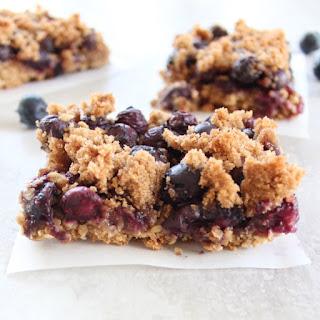 Gluten Free Blueberry Oat Bars Recipe