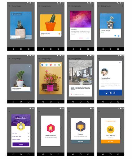 MaterialX - Android Material Design UI screenshot