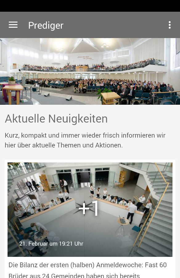 Predigerkonferenz- screenshot
