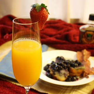 Passion Fruit Mimosa.