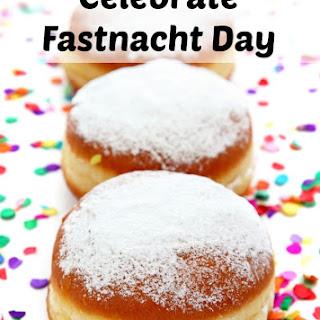 Fastnacht Day Doughnut
