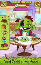 Zedd the Zombie - Grow Your Wacky Friend APK screenshot thumbnail 1