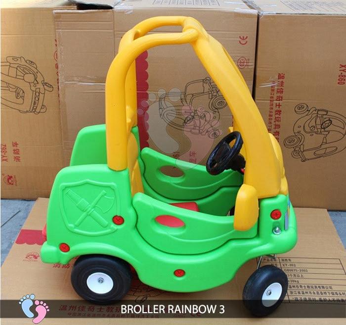 Xe chòi chân Broller Rainbow 3 cho bé 5