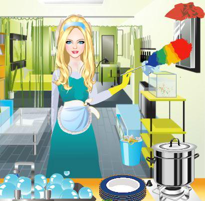 Gina - House Cleaning Games 6.7.2 screenshots 3