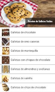 Recetas de galletas faciles 2