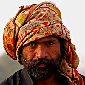 Portrait by Bob Khan - People Portraits of Men (  )