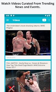 Wrestling News, Videos, & Social Media 3.8 Mod APK (Unlock All) 3