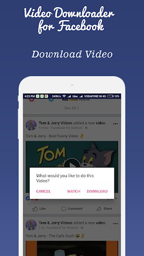 video downloader for  fb screenshot 3