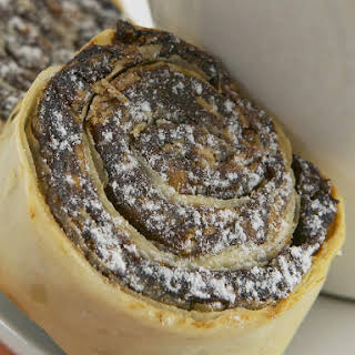 Date and Almond Pastry Spirals.