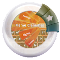 Flame Clamshell GO Keyboard icon