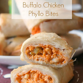 Buffalo Chicken Triangles