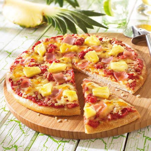 Abbildung Steinofen-Pizza Hawaii