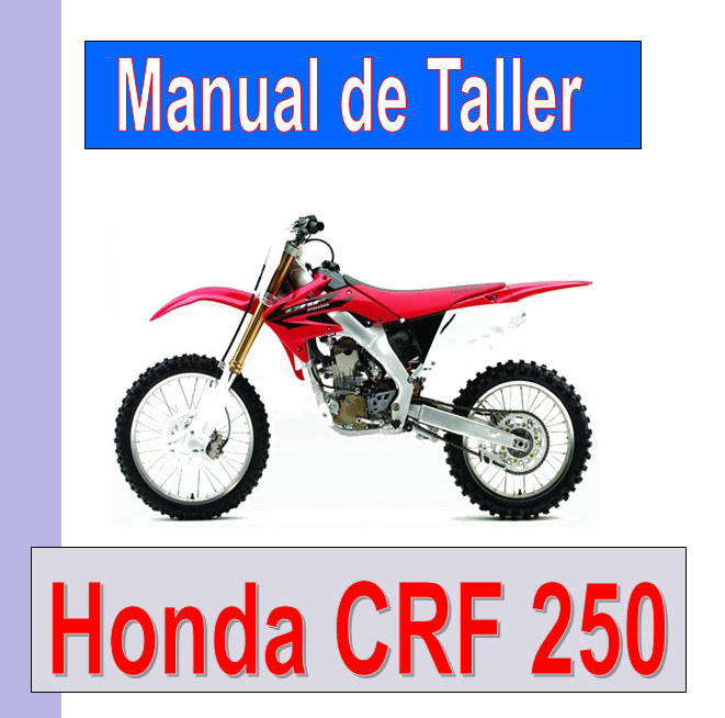 Honda CRF 250 R  -manual-taller-mecanica-despiece