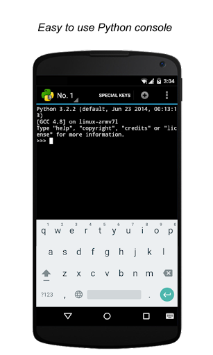 QPython3 - Python3 for Android 1.3.2 screenshots 3