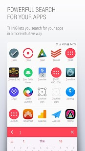 THING Launcher - No ads, totally free- screenshot thumbnail
