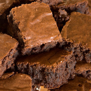 Easy Chocolate Brownies.