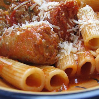 Sunday Pasta, or Rigatoni and Sauce