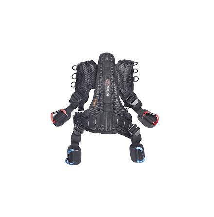 K-Tek Stingray Harness with back-saving ExoSpine