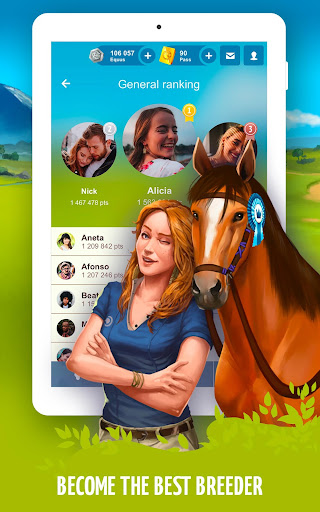 Howrse - free horse breeding farm game 4.0.5 screenshots 14