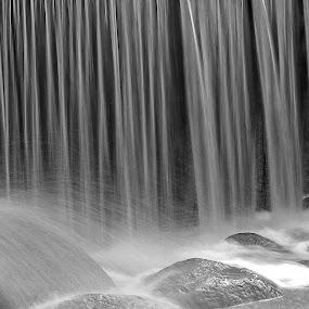 Waterfall by Mark Denham - Abstract Fine Art