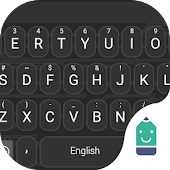 Outer Space Black Emoji Theme Android APK Download Free By Best Keyboard Theme Design