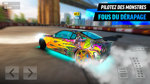 Drift Max World - Jeu de course avec dérapages APK MOD screenshots 1
