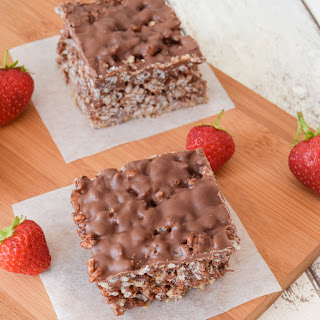 Chocolate Peanut Butter Crunch Bars.