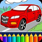 Juego de coches: Colorear