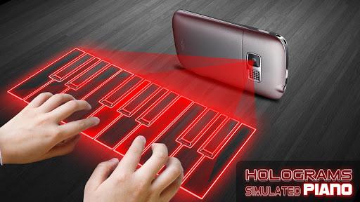 全息鋼琴 3D Simulated