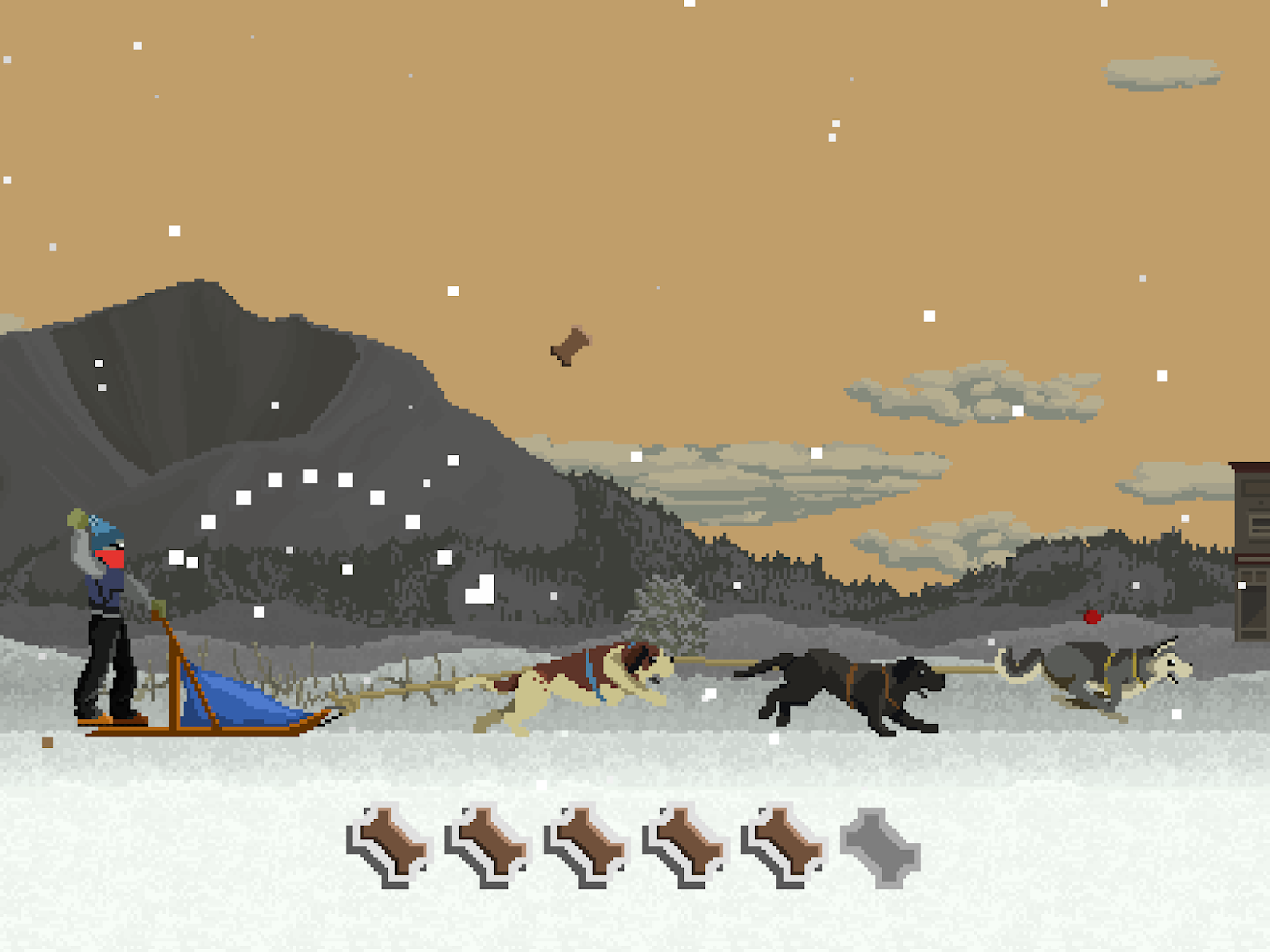 Dog Sled Saga- screenshot