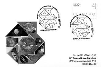 Photo: Tarjeta con el matasellos de la inauguración del Museo de Geología de Oviedo