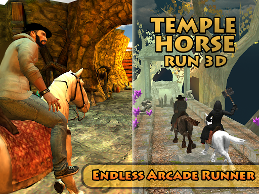 Horse Run Temple 3D  captures d'écran 5