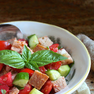 Traditional Italian Bread and Tomato Salad
