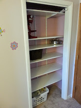 Photo: And the closet. With this installed, I am DONE with this room. Only a 6 month project?