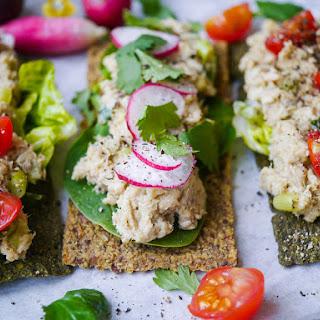 Salmon, Avocado & Tahini Open Sandwiches.