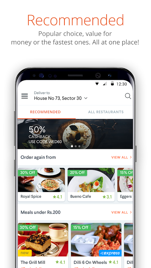 foodpanda: Food Order Delivery- screenshot
