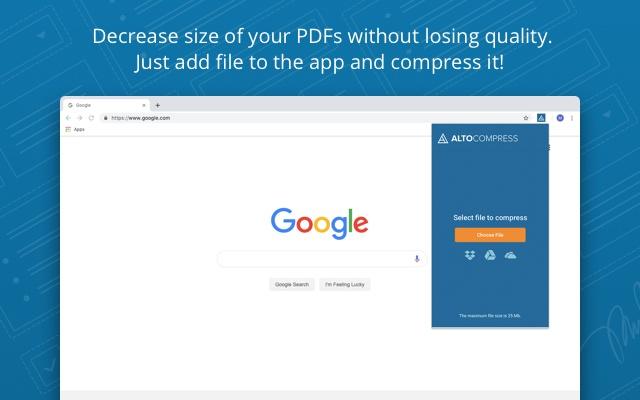 Alto Compress PDF File by PDFfiller