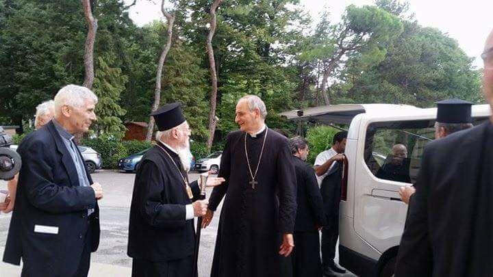 Στο Ναό του Αγίου Δημητρίου της Μπολόνια ο Οικουμενικός Πατριάρχης