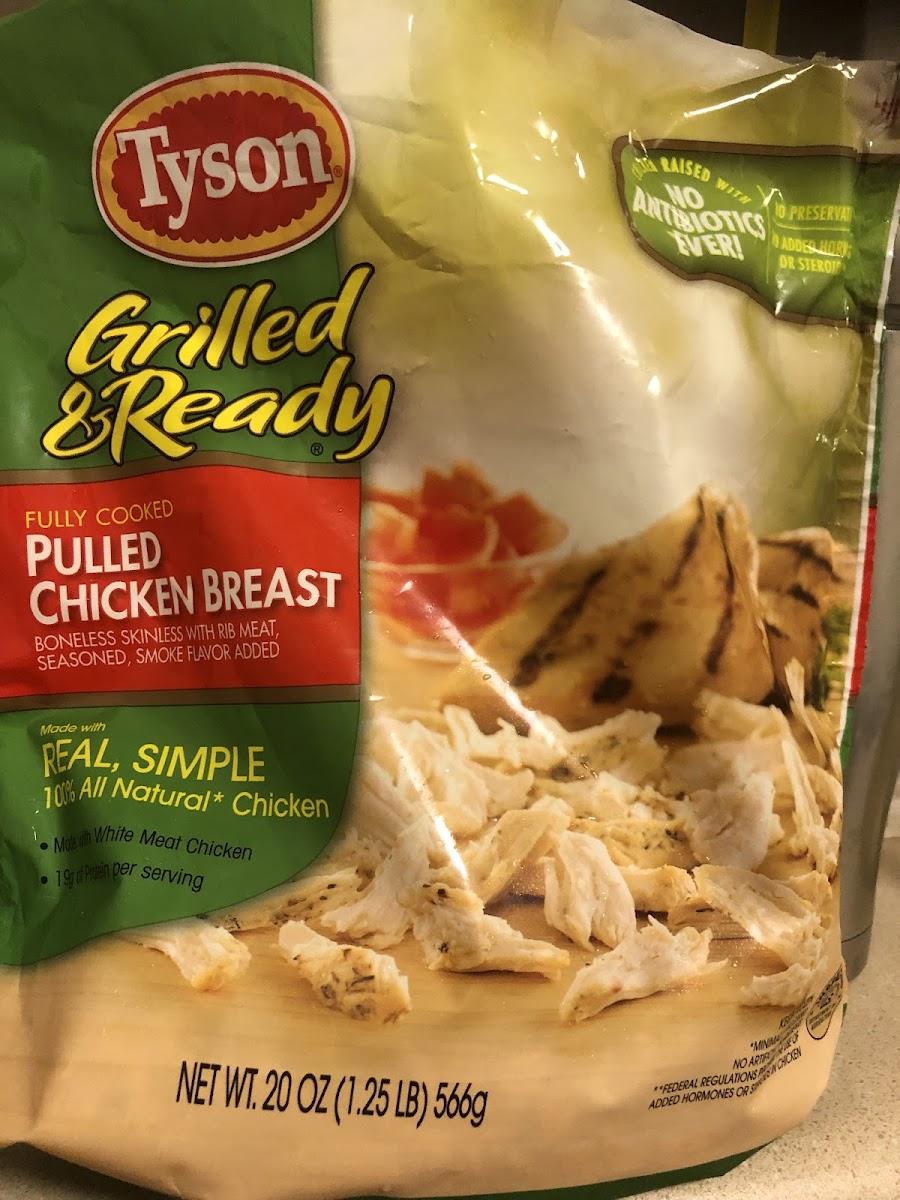 Pulled Chicken Breast
